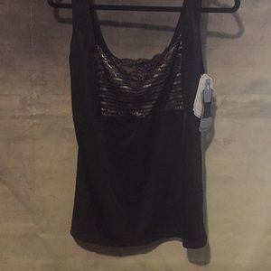 Beautiful Lace Front Camisole Shape Wear 1X NWT